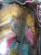 Monster High Freaky Fusion Doll Neighthan Rot Boy 2013 Mib