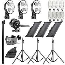 "Neewer 2400W 5500K 20""x28"" 4 Socket Softbox Photo Studio Lighting Kit"