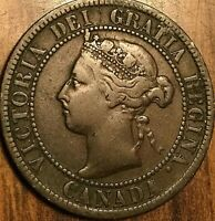 1893 CANADA LARGE CENT PENNY COIN