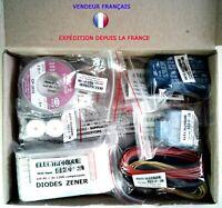 ES31 Lot de plus de 1200 composants tous utiles  (voir description détaillée)
