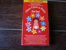 Once Upon a Potty for her VHS Alona Frankel Pre-Owned Very Good Condition