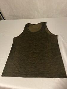 Dark Brown Lululemon tank top men Size M