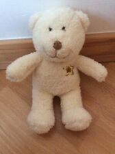 Mothercare Small Cream Teddy Bear With Star On Chest VGC