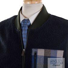 NWT Mens PENDLETON Coat XL in Navy Blue UMATILLA CAMP FLEECE Vest Plaid Pocket