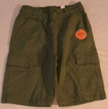 The Children's Place Boy's Drawstring Pull-On Cargo Shorts NA8 Green Size:10 NWT