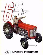 Massey Ferguson 50 & 65 Workshop Service Manuals for Mf 50 Mf65 Repair