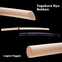 TOGAKURE RYU BOKKEN + SAYA Ninjutsu Buche Ninja Bujinkan Ryuha Budogu Ningu