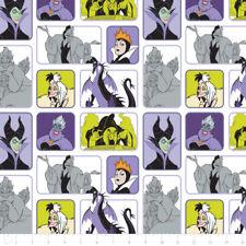 Camelot Stoffa Cattivi Disney Wicked donne in bianco al metro concessi in licenza TV Pellicola