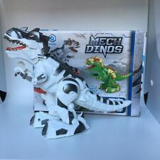 New Walking Dinosaur Robout T-Rex Toy For Kids With Light, Sound Color White