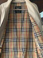 Burberry Raincoat, Vintage 1960's Made for Harrods
