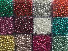 BEAD SHINY GARLAND CHRISTMAS PARTY HANGING ROOM TREE DECORATION ART CRAFTS 1M