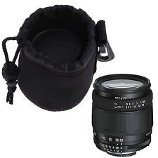 Neoprene Soft Protector Pouch Bag Case For Nikon Canon SONY SLR DSLR Camera Lens