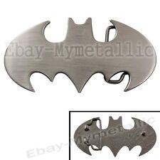 Super Hero Batman Logo Removable Metal Belt Buckle #03