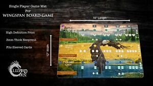 Custom made player mat for Wingspan board game