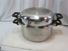High Quality 6 Quart Stock Pot 304 Surgical Stainless Steel With Dome Lid B8717