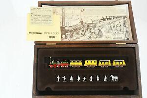 Minitrix Limited Edition der Adler display train set in wooden presentation case