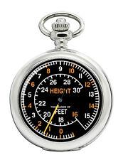 Spitfire Altimeter Pocket Watch