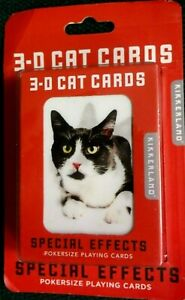 CATS Holographic   Playing Cards  SEALED in BOX DECK Poker size