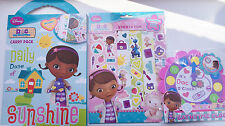 Doc Mc Stuffins Activity Pack/Set Of 3 Items Colouring, Stickers & Bath Clock