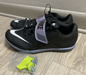 Nike High Jump Elite Track & Field Spikes CleatsSz 7.5 W/ Spikes (806561-002)