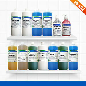 Cleaning Chemicals Detergent+Disinfectant+Floor Cleaner+Window Cleaner+Hand Soap