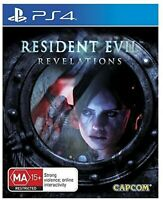 Resident Evil Revelations HD PS4 PlayStation 4 Video Game Mint Cond UK Release