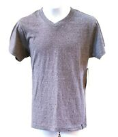 Montage NWT Boys Youth Size M 10 Gray Short Sleeve V Neck T Shirt Top