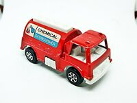 1970 Vintage Tootsietoy Fire Truck Chemical Extinguisher Toy Truck Nice