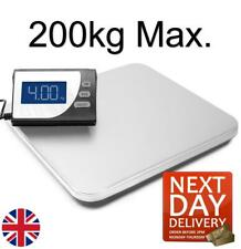 More details for professional 200kg heavy duty postal digital parcel scales weighing steel