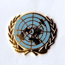 Blue Enamel & Gilt metal Lapel Badge UNITED NATIONS (UN)