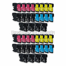 40+ PK New LC61 Ink Cartridge for Brother Printer MFC-490CW MFC-J415W MFC-J615W