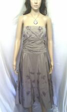 MONSOON SILK PROM DRESS.  EVENING, COCKTAIL PARTY, WEDDING, OCCASION.   SIZE 12