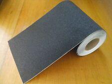 """10""""Wide Black Skateboard Griptape -  Old School 10 x 36"""