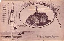 LE PUY-EN-VELAY concours de gymnastique de juin 1923 vierge éd benneton écrite