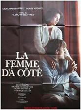 LA FEMME D'A COTE Movie Poster / Affiche Cinéma FRANCOIS TRUFFAUT