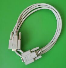 (6 FT) RS232 Serial Null Cable DB9 Female to DB9 Female