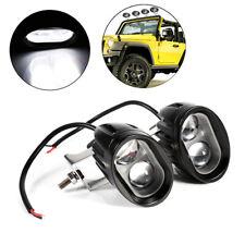 2Pcs 20W LED Spot Work Light Car SUV Off Road Pickup DRL Driving Fog Light Lamp
