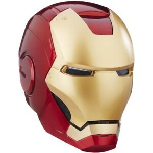 IRON MAN - Marvel Legends 1:1 Scale Life-Size Helmet Prop Replica (Hasbro) #NEW