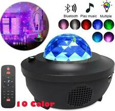 10 Colors USB LED Galaxy Projector Starry Night Lamp Sky Star Projection Decor