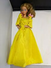 Mattel vintage Heart Family Mom Barbie doll in yellow surprise party dress
