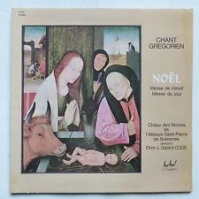 Chant grégorien Noel Messe de minuit Choeurs moines St Pierre Solesmes FC 522