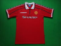 Man United 1998 1999 Home Manchester United Retro Jersey Football Shirt