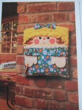 Vintage SEWING PATTERN Jean Greenhowe HANDY MANDY Hanging Storage Bag Peg-bag