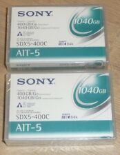 2 NEW SEALED Sony SDX5-400C AIT-5 Data Tape Cartridge