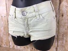 Aeropostale Short Shorts Low Rise Womens SIze 00 Green