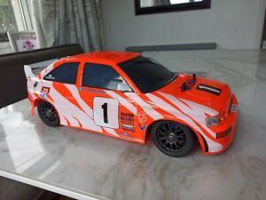 Tamiya Ford Escort RS Cosworth WRC HopUps FRP chassis FF01 TA02 TA01 1/10 RC Car