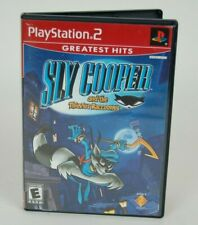 Sly Cooper and the Thievius Racconus Sony Play Station 2 PS2 CIB