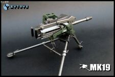1/6 ZYTOYS MK19 Grenade Launcher Weapon Toy 12''Soldier Figure Accessory