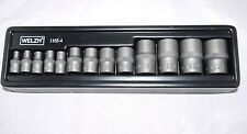 Welzh Werkzeug 13pc E-Star/Torx  Impact Socket Set 1/4dr-3/8dr and 1/2dr E4-E24