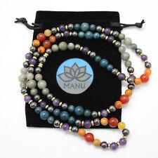 Phoenix and the Flame Mala – Magnetic Hematite Holistic Spiritual Jewelry